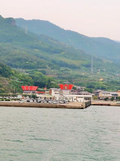 小豆島-9 池田港⇒高松港 第一こくさい丸乗船 ☆瀬戸内海クルーズ 60分