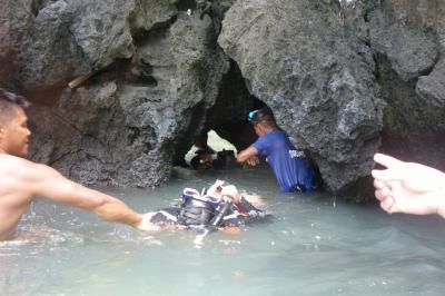 """駐在のついでに 【その55】フィリピン遠征⑱ エルニド3日目 Tour A で、続いて """"Secret Lagoon""""へ!"""