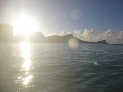 H28 お父ちゃん一人旅inHAWAII(5日目 朝からサーフィン)