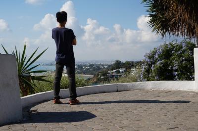 言葉はわからなくてもチュニジアは楽しめる (2) シディ・ブ・サイドは白と青の街
