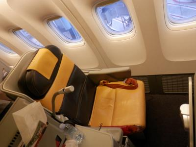 2017OCT①カイロ修行AZアリタリア航空ビジネスクラス搭乗記・新しくなったローマのCASAラウンジにもお邪魔しました。