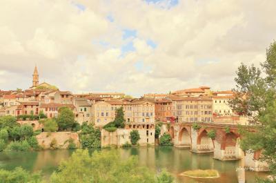 フランス 美しい街並みと世界遺産を訪ねて(3)世界遺産「司教都市」アルビ