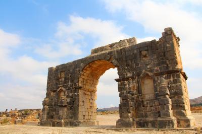 モロッコ メクネスの古代遺跡を訪ねて