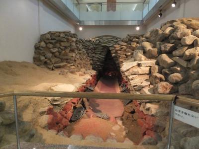 地域の仲間と歴史遺産プチ観光で柳本に