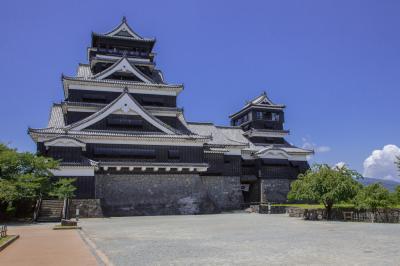 災害前の熊本城