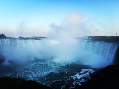 出張の合間にナイアガラの滝