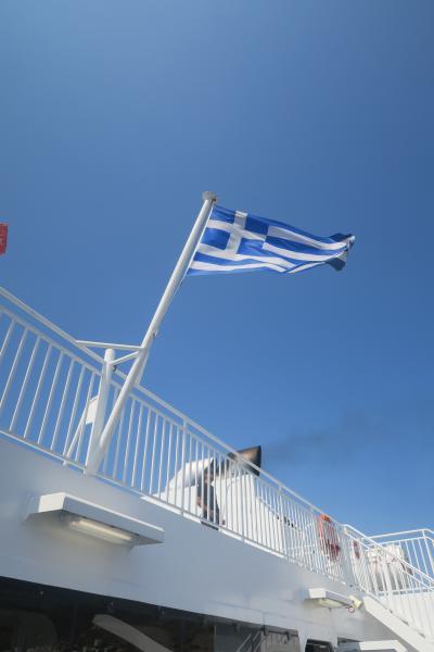 ギリシャ旅行④エーゲ海クルーズ