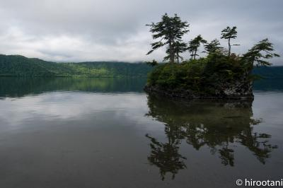 夏の東北旅行【7】曇天の十和田湖