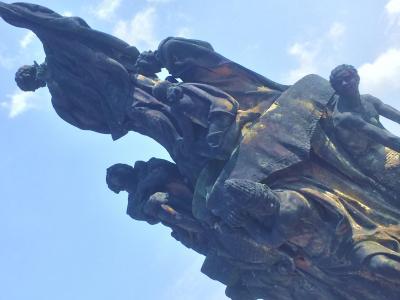 ワルシャワ・ベルリン・プラハ旅行記(プラハ②旧市街広場からカレル橋、ザヴィェル像、キリスト教伝来とその後の郡崩れまでを年表に)