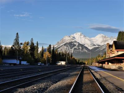 個人で行く、秋色カナダ周遊旅行1  出発からバンフ