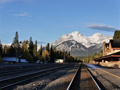秋色カナダ周遊個人旅行1  出発からバンフ