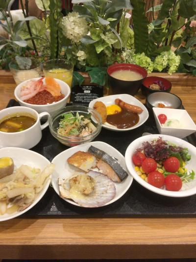 2017年9月 北海道への旅(4日目-1)~ドーミーイン札幌の朝食