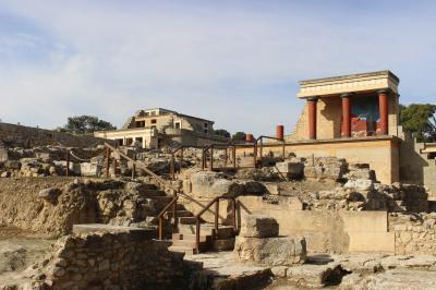 ギリシア4日目 クレタ島② クノッソス宮殿遺跡