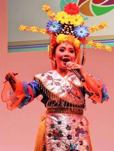 ツーリズムEXPO-8 インドネシアb 伝統舞踊パフォーマンス ☆ガムラン//響きに合わせて