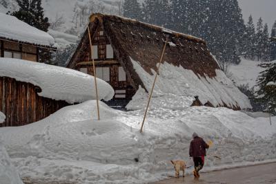 世界遺産雪の五箇山