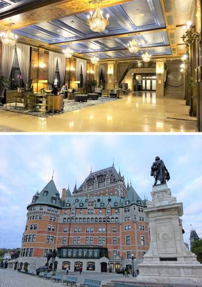 カナダ建国150周年の年に、メープル街道を満喫するはずが…その③:フェアモントホテル・シャトーフロンテナックはとっても豪華!でも、シャトーではないよね~