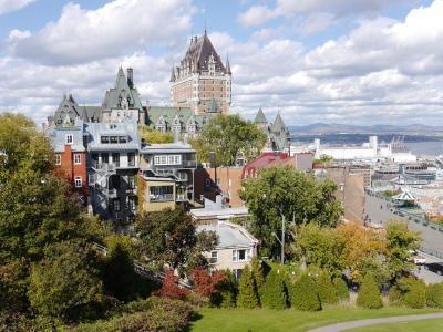 個人で行く秋のカナダ周遊 4.モントリオールとケベックシティ