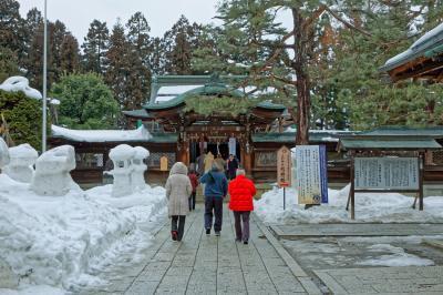 上杉神社&米沢城址公園