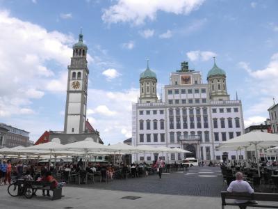 アウクスブルク ロマンチック街道 雰囲気がとても心地いい素敵な街