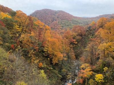 2017、10月 雫石の旅   ②国見温泉、葛根田渓谷