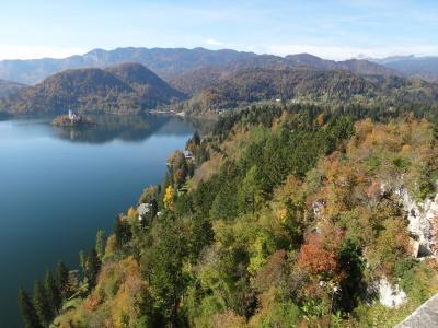 碧く輝くスロベニア・出発からブレッド湖まで(1)