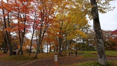 ガーデン朝食と紅葉~北海道3日間