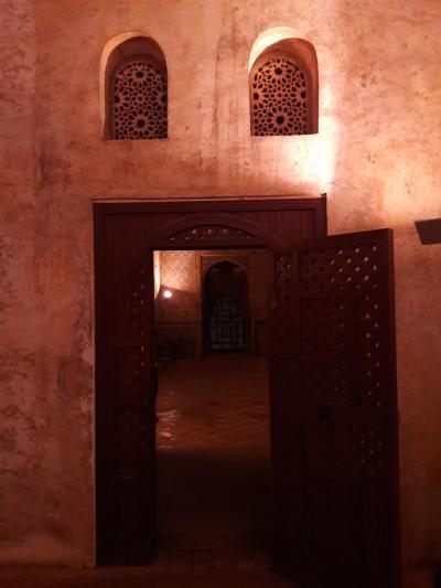 グラナダ再訪その3 アルハンブラ宮殿見学 夜の部