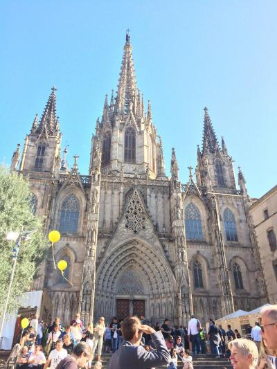 初めてのスペイン☆秋のバルセロナ