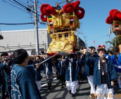 2017年 平成29年度 伊予三島(現 四国中央市)秋祭り