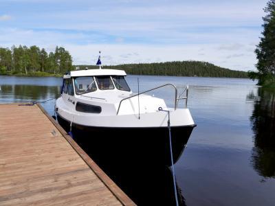 2017.8 22回目のフィンランド旅行8-4日目Lakka(Cloudberry)積み,シモ湖をクルーズ,Kantoniemiのビールバー