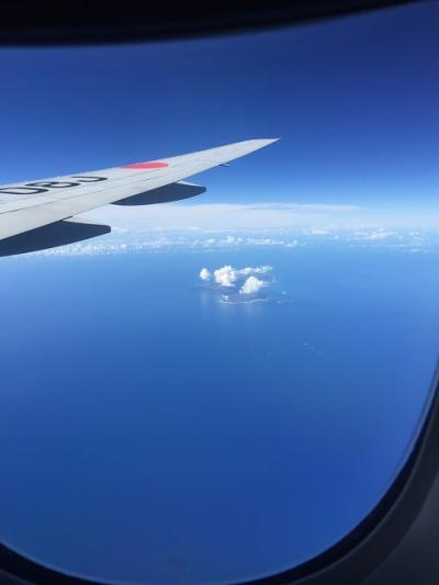 特典航空券で行く初めてのハワイ♪母娘旅5泊7日♪ その2 離陸~着陸後1日目