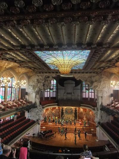 ガウディーたちの近代建築 カタルーニャ音楽堂