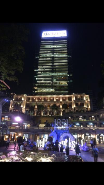 仕事が終わった後の弾丸旅行 香港