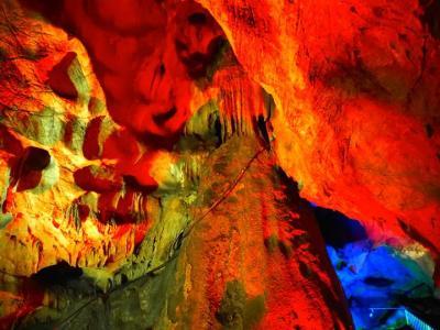 2017年秋!:軽井沢の旅1日目:花園フォレスト&関東一デカイ鍾乳洞『不二洞』で自然が作り出す神秘に触れてきました!(1泊2日(家族で!))