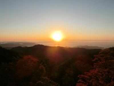 日本百名山★絶景!雲海より富士を望む 大台ケ原