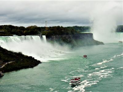 個人で行く、秋色カナダ周遊旅行 6. ナイアガラフォールズとナイアガラオンザレイク