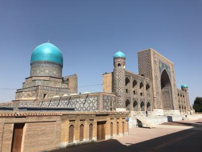 2017ウズベキスタンの旅⑤サマルカンド後半