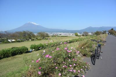 自転車でGO! 2017.10.26 富士山を見ながら市内南部をウロウロ…