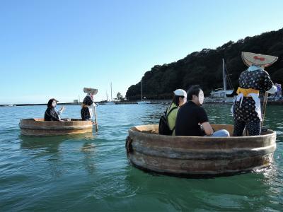 初めての佐渡島大自然と歴史を訪ねて3(2日目午後:砂金採り・宿根木・たらい船)