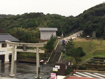 因幡の白兎で有名な白兎神社と鳥取城址をバスで巡る