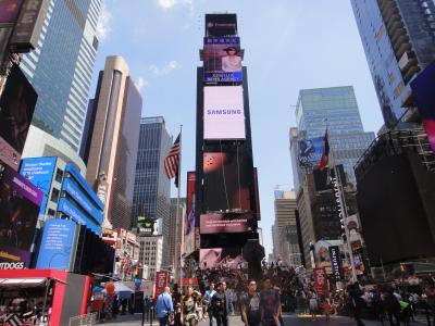 丁度一年を経て、再びの「ニューヨーク(米国)」に来て・・・。