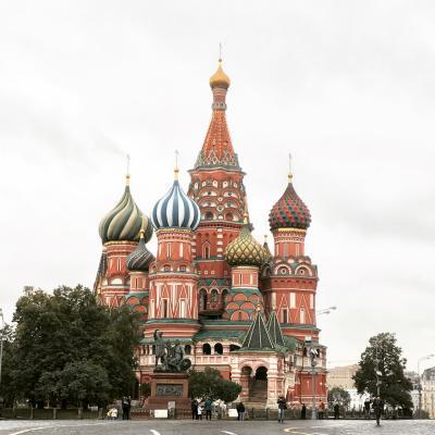 秋のモスクワ(出張)