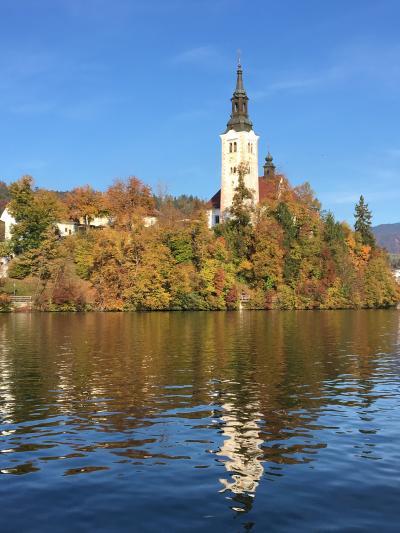 ベオグラードから入るクロアチア・スロベニア周辺5カ国周遊旅行スロベニア、ブレッド湖編
