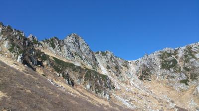 秋の南アルプスから中央アルプスを楽チン登山と温泉&銀輪行
