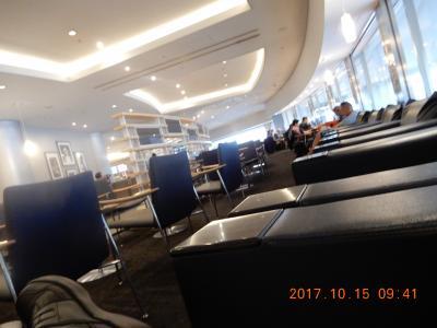 初めての東南アジア(バリ島) 成田空港ラウンジ 2017 10~11