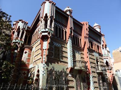 カサビセンス、ガウディ世界遺産(バルセロナ)