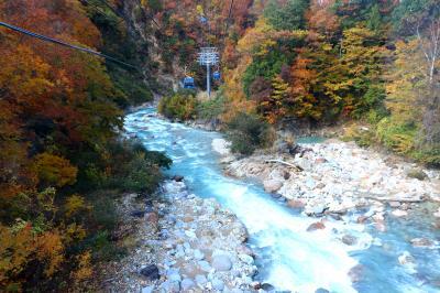 日本最長ゴンドラ(ドラゴンドラ)の秋色空中散歩・・・