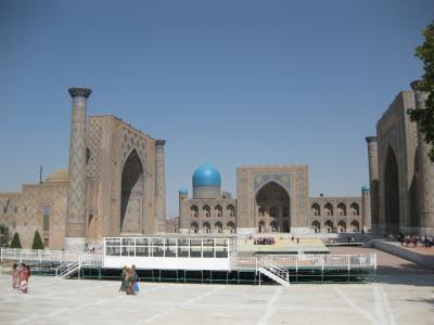 ウズベキスタン・ヨルダン・イスラエル弾丸ツアー  サマルカンドも日帰りで観光編