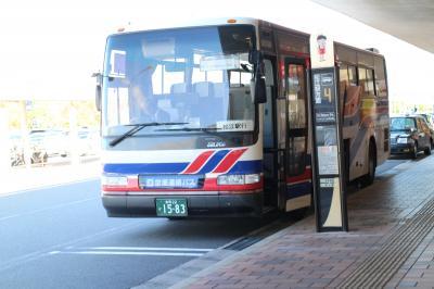 【バス乗車記】米子空港→松江駅、ベタ踏み坂(江島大橋)、島根版海中道路を経由するルート。