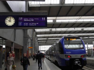 ザルツブルク ①ドイツ鉄道を使って国境を超え!新市街とホテル